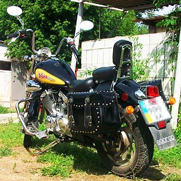 Кофры на мотоцикл.