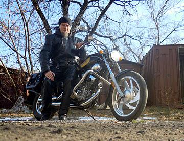 фото мотоцикл и я - почти зима