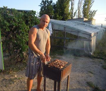 фото шашлыки в Ялте - сентябрь 2014