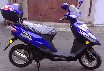 мой скутер - Navigator EX 50QT-B