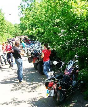 фото с Байк-Террикон 2009 - мотоциклов было много