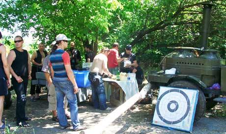 полевая кухня на Байк-Террикон 2009